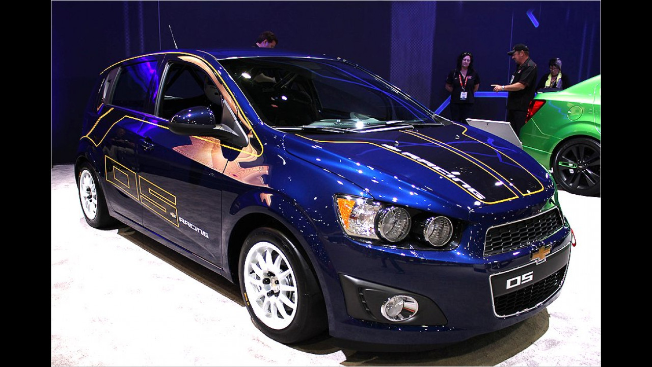 Chevrolet Sonic B-Spec Sport Race Car Concept