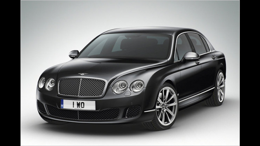 Exklusiver Scheich-Bentley