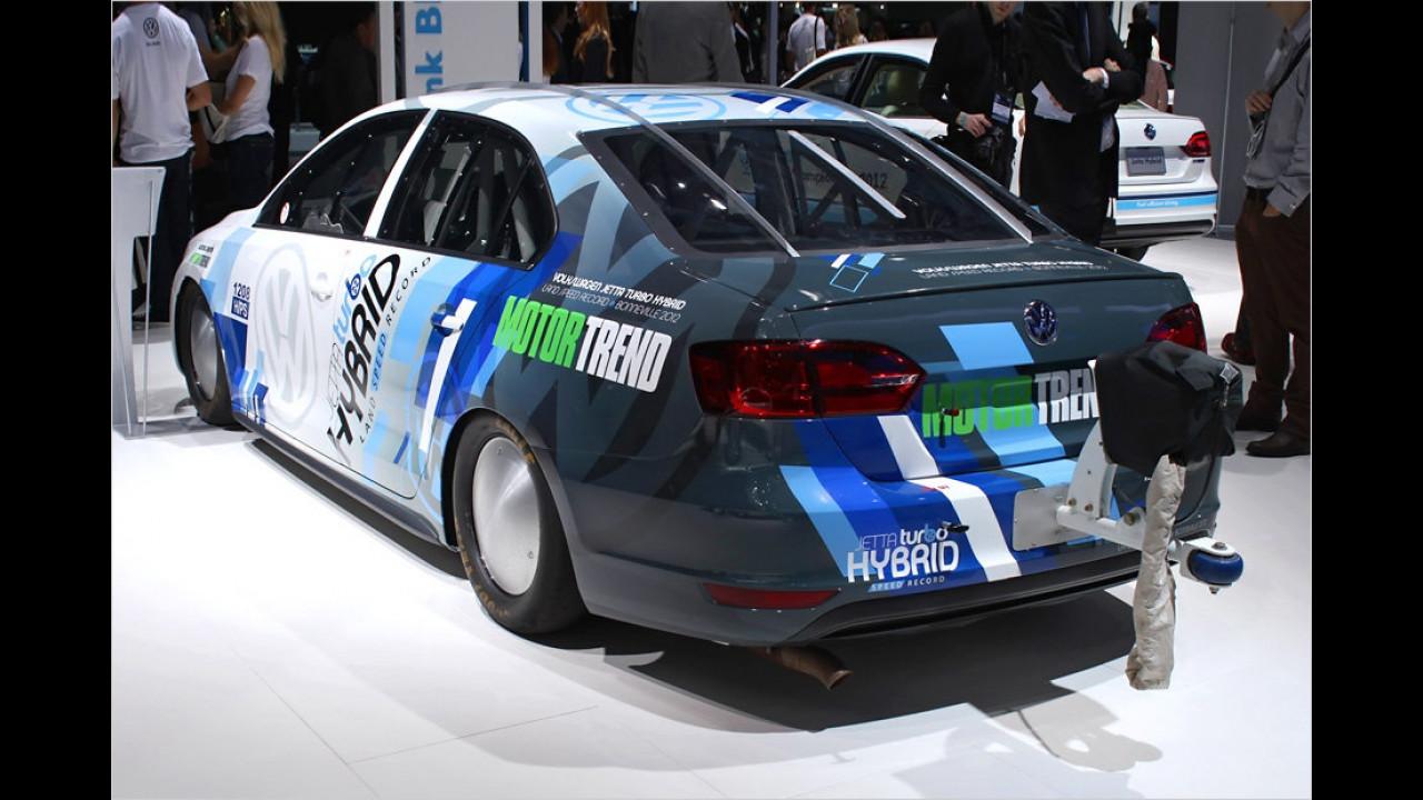 VW Jetta Hybrid (Rekordfahrzeug)