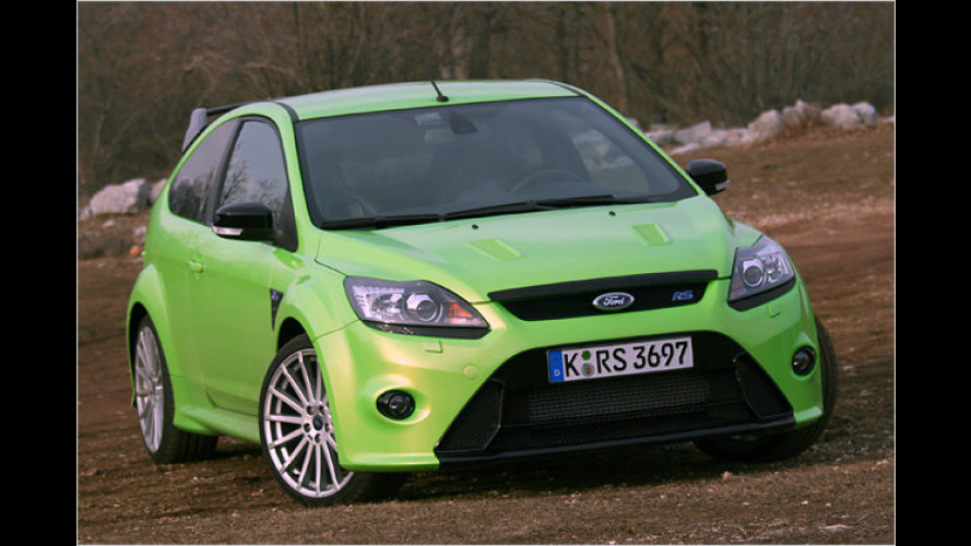Ford Focus RS (2009) im Test: Auf den Spuren der WRC
