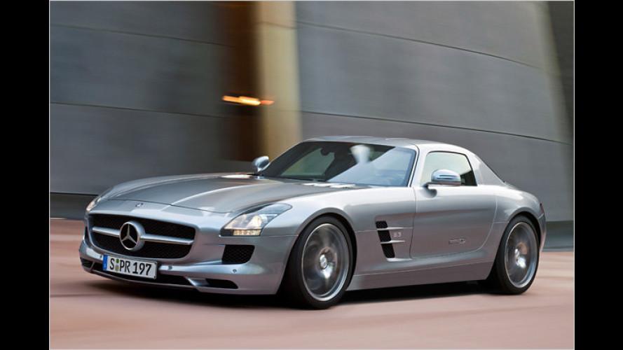 Mercedes SLS AMG: Stuttgarter Super-Trumpf