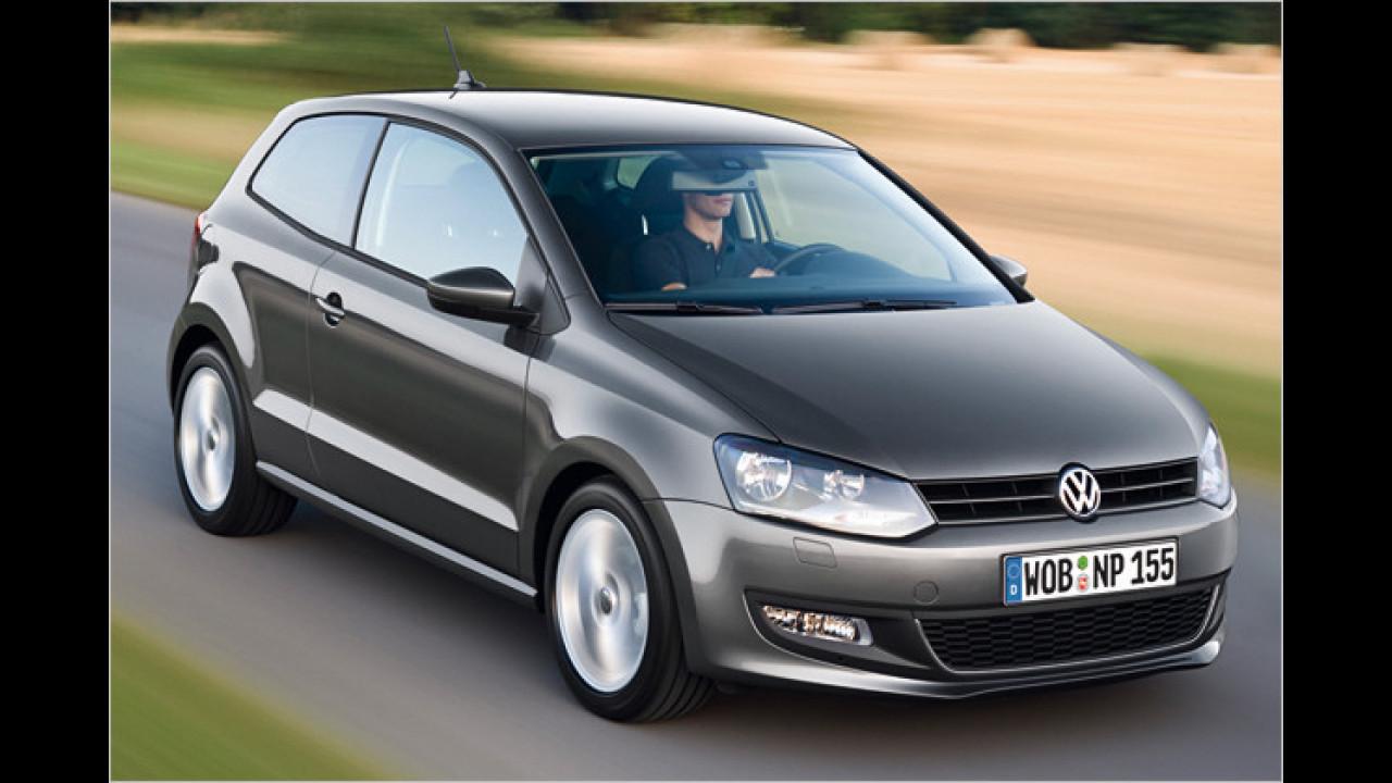 Platz 3: VW Polo (4,3 Prozent)