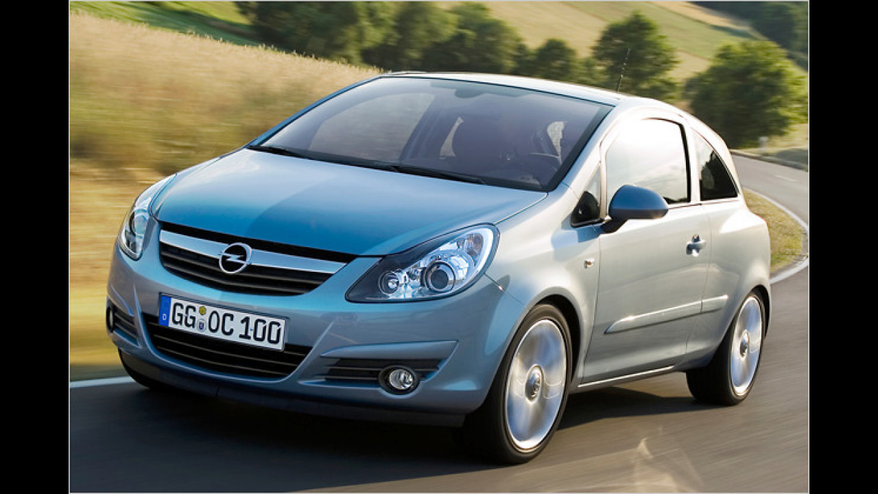 5.Opel Corsa