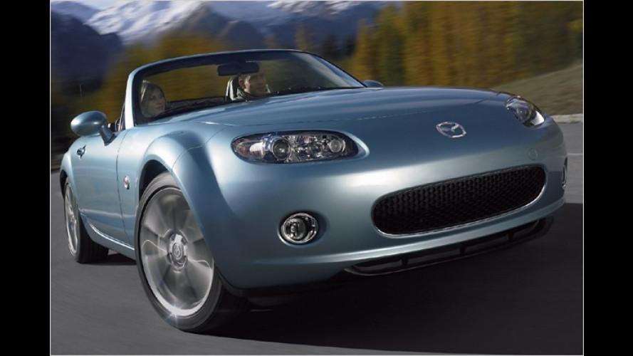 Mazda MX-5: Extrapäckchen Luxus für Sondermodell Niseko