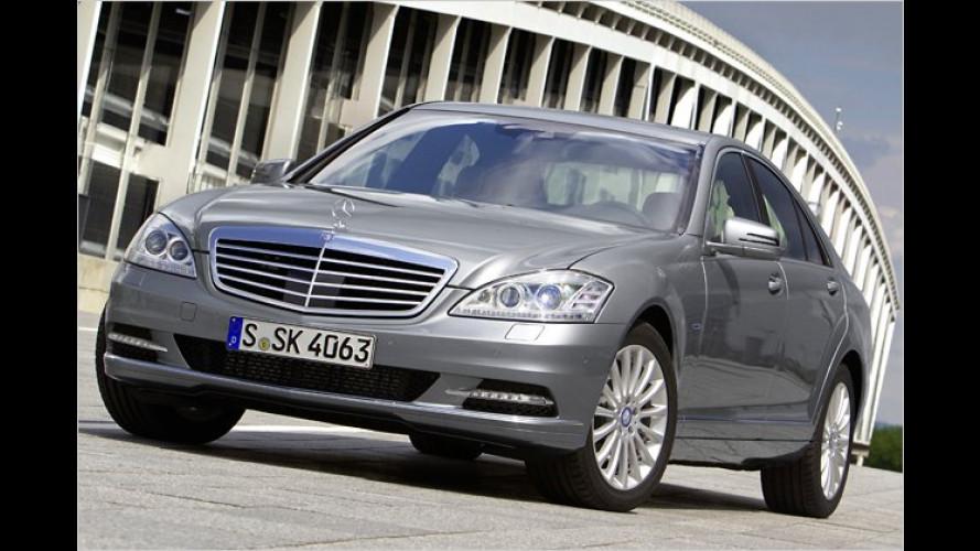 Mercedes S-Klasse: Stärkere und sparsamere Motoren