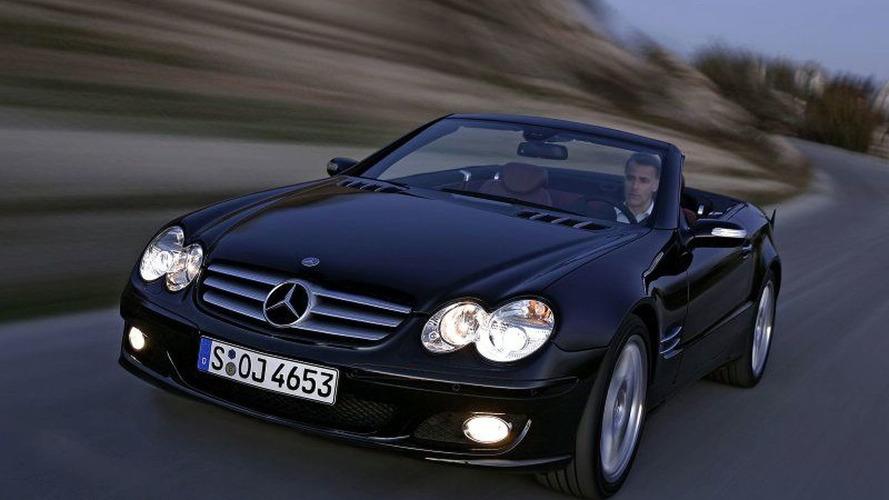 Mercedes-Benz SL-Class Facelift Revealed