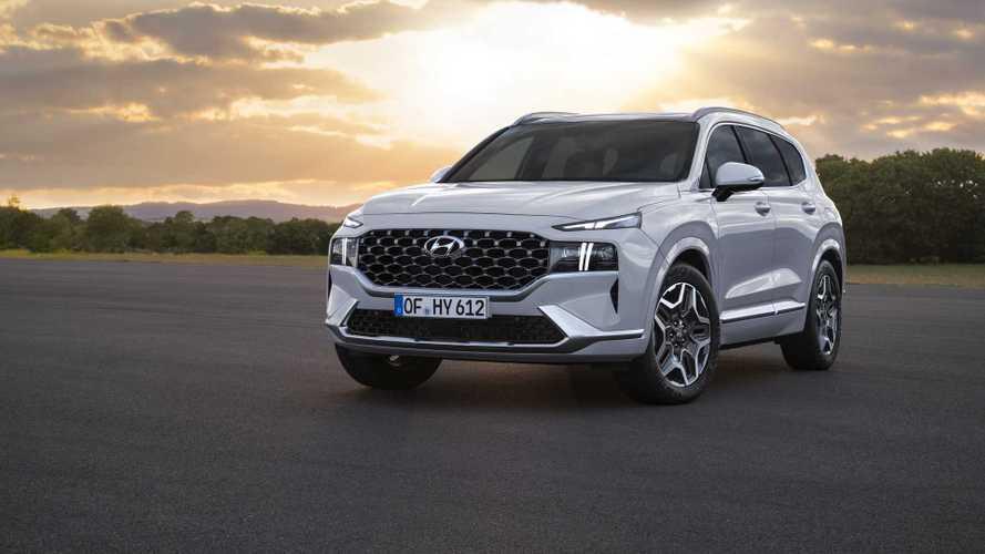 Hyundai, yeni Santa Fe'nin motor seçeneklerini açıkladı