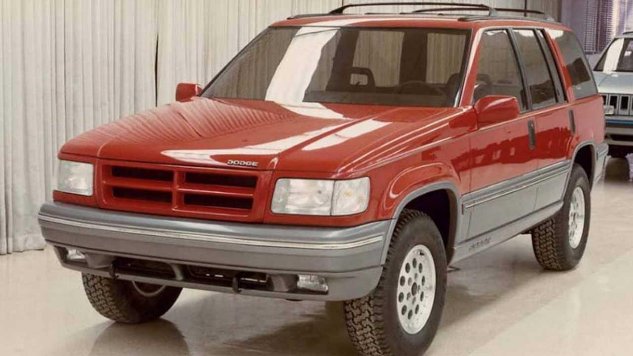 Dodge Branded Jeep Grand Cherokee