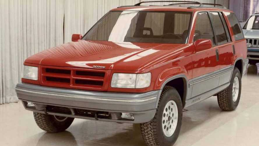 Rare Photo Reveals Jeep Grand Cherokee Could've Been A Dodge
