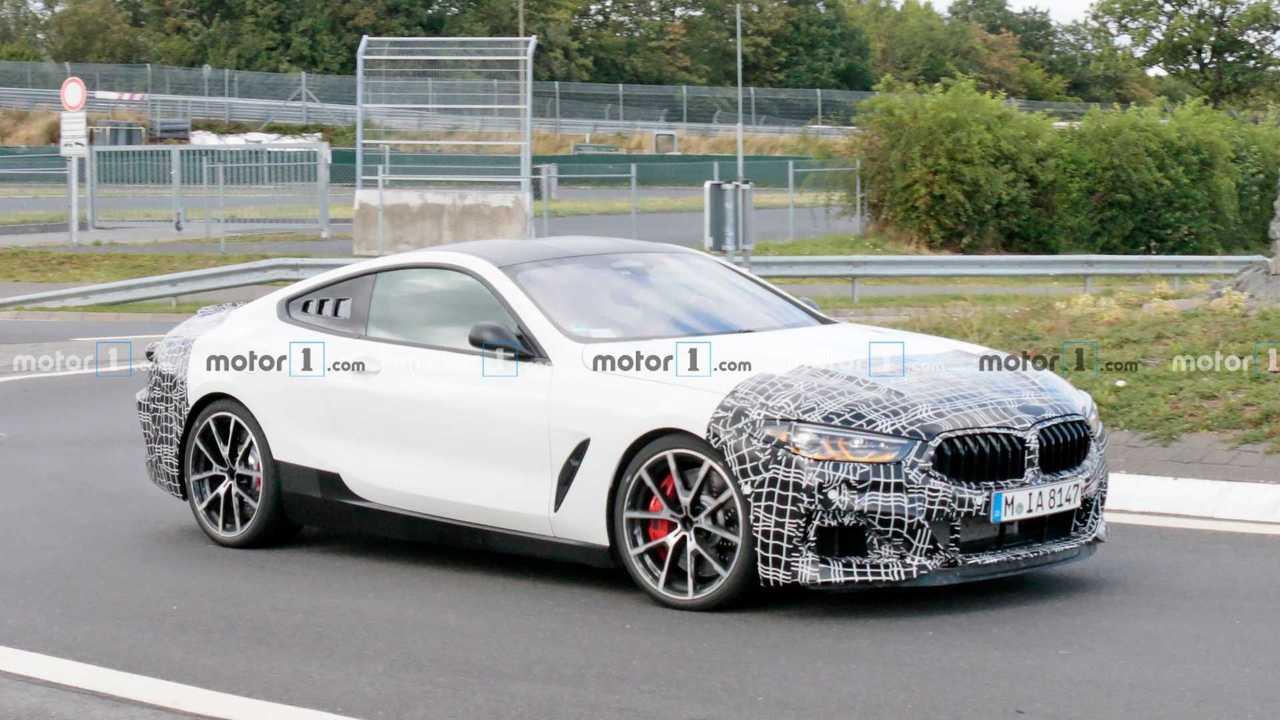 BMW 8er: Erlkönig mit Mittelmotor erwischt?