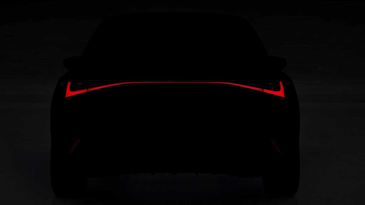 2021 Lexus IS teaser