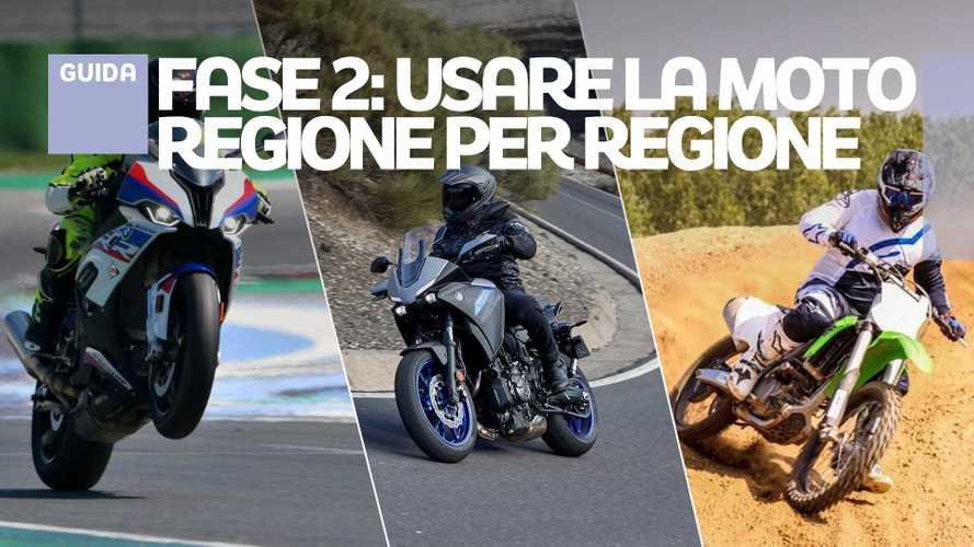 Giri in moto, enduro, cross e pista: la Fase 2 regione per regione