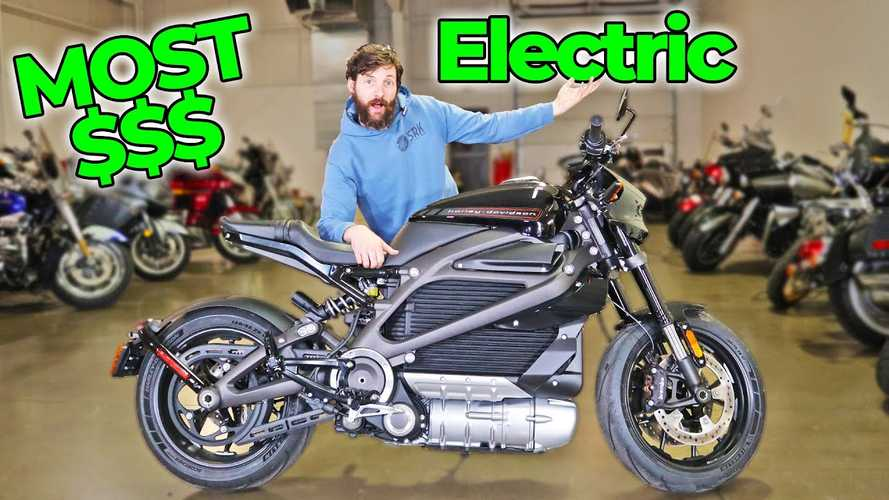 Dude Finds Out How Far The Harley-Davidson LiveWire Will Actually Go