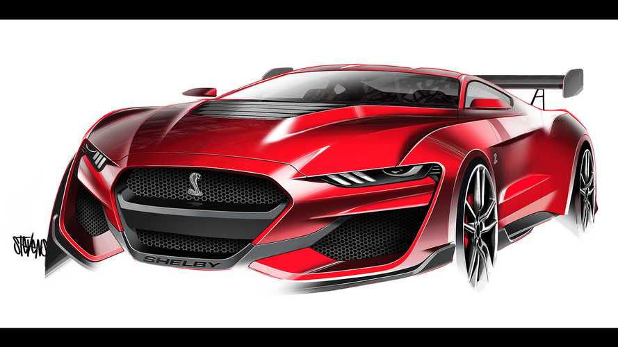 We Talk To A Mustang Designer About This GT500 Sketch Becoming Reality