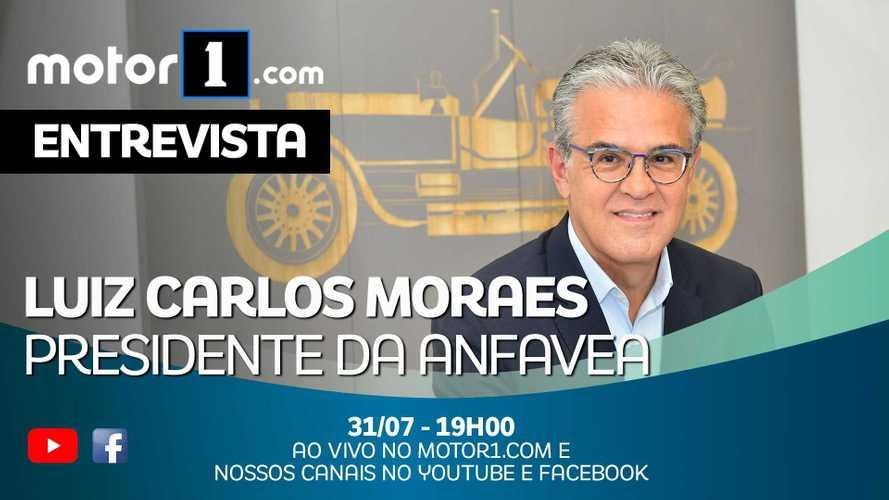 Luiz Carlos Moraes, presidente da Anfavea, fala ao vivo nesta sexta às 19h