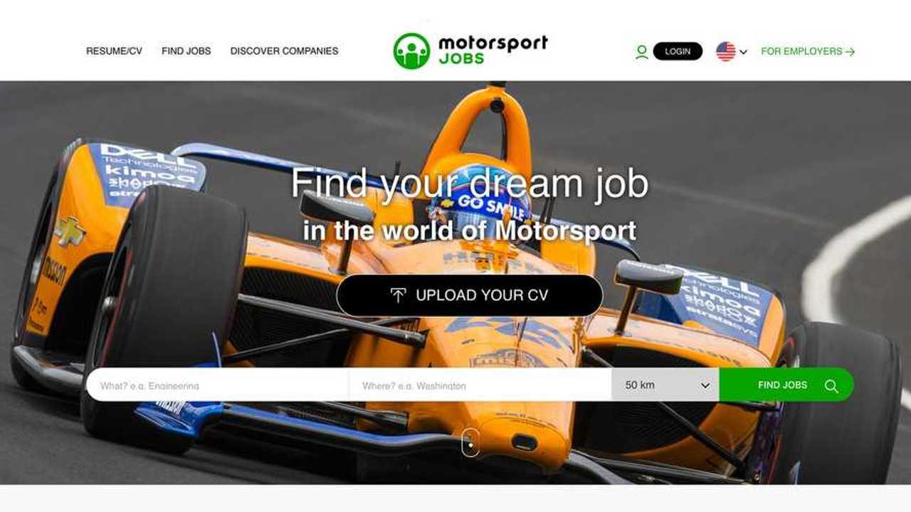 Motorsport Jobs feature image