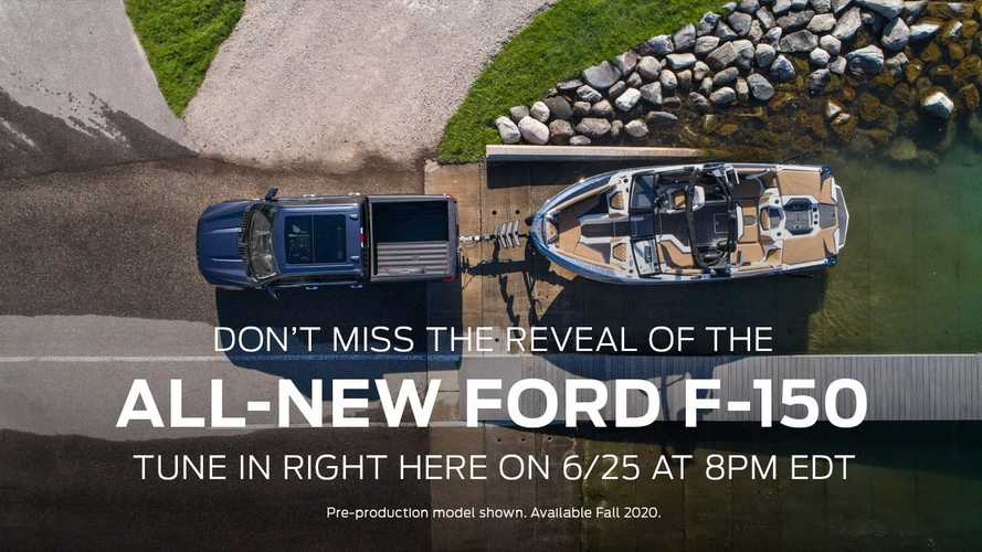 2021 Ford F-150 Teased One Last Time Before June 25 Debut
