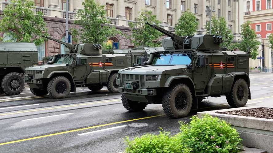 Victory Day 75th Anniversary military parade in Moscow