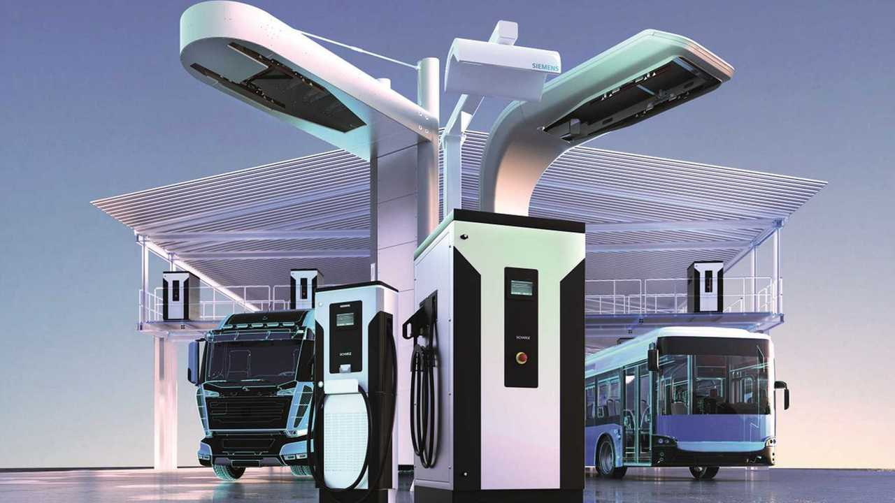 Siemens - infraestrutura de carregamento