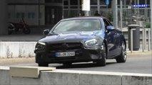 2021 Mercedes E-Class Convertible facelift screenshots from spy video