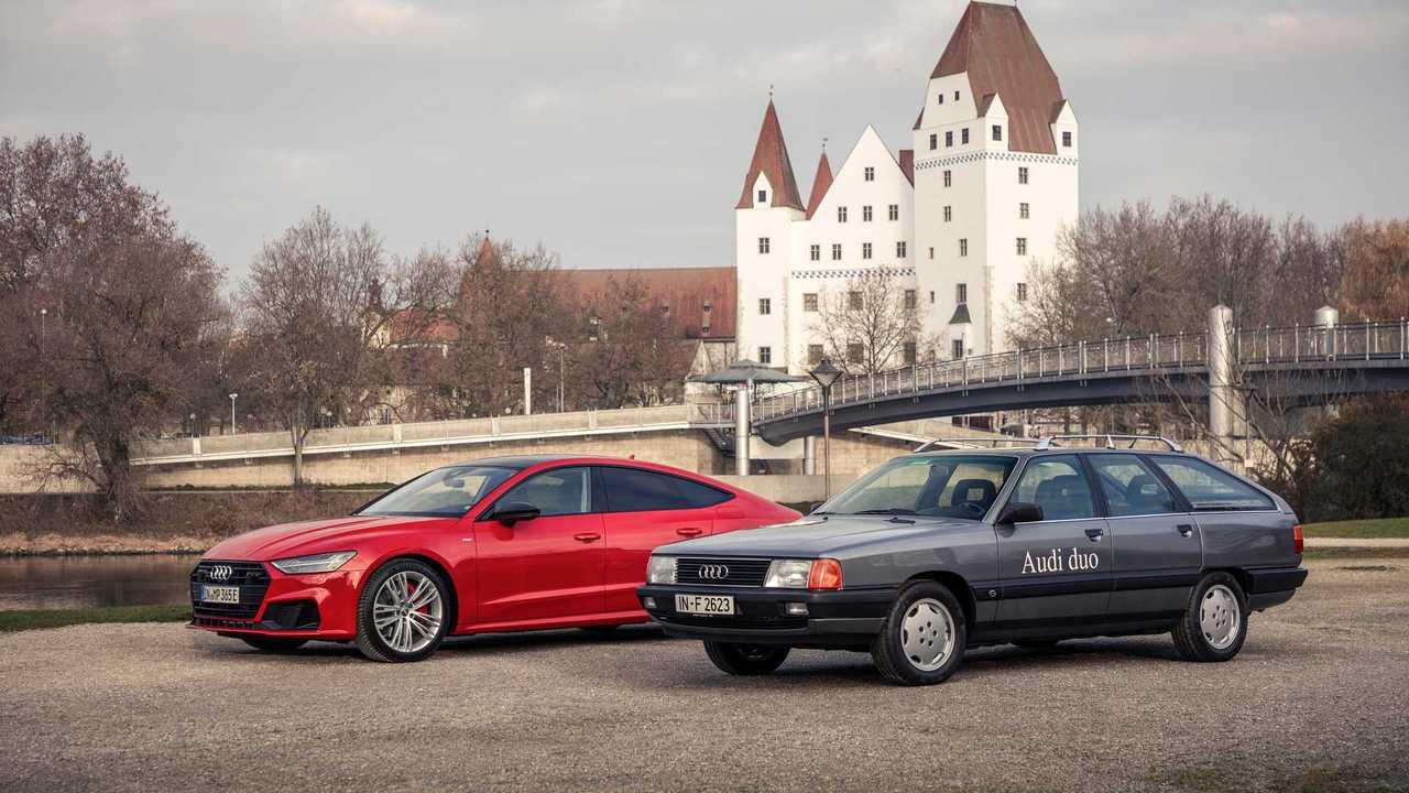 Audi 100 Avant quattro Duo