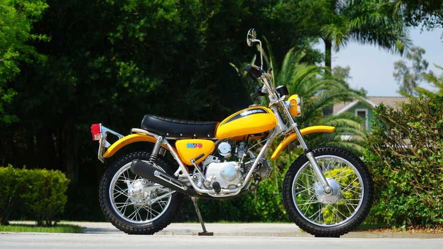 This 1971 Honda SL70 Is In Impossibly Good Shape