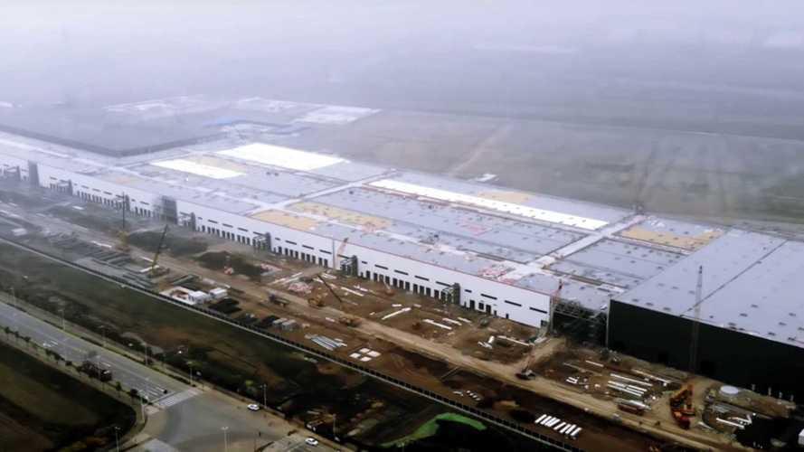 Гигафабрика Tesla в Китае уже достроена