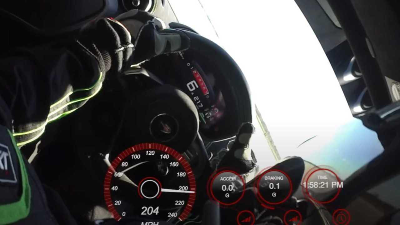 Top Speed Discrepancy