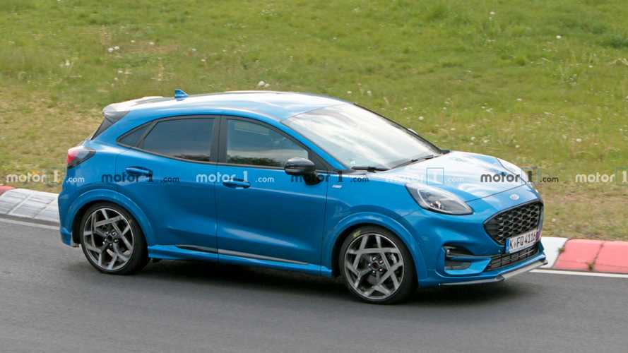 Ford Puma ST spied lapping the Nurburgring