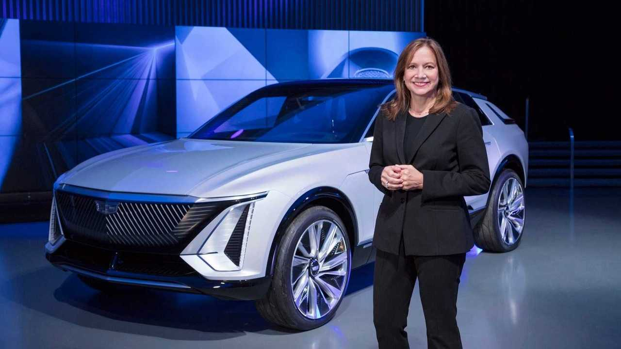 gm mary barra cadillac lyriq