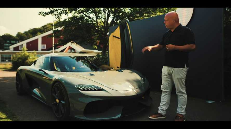Christian Von Koenigsegg shows hypercars can be practical