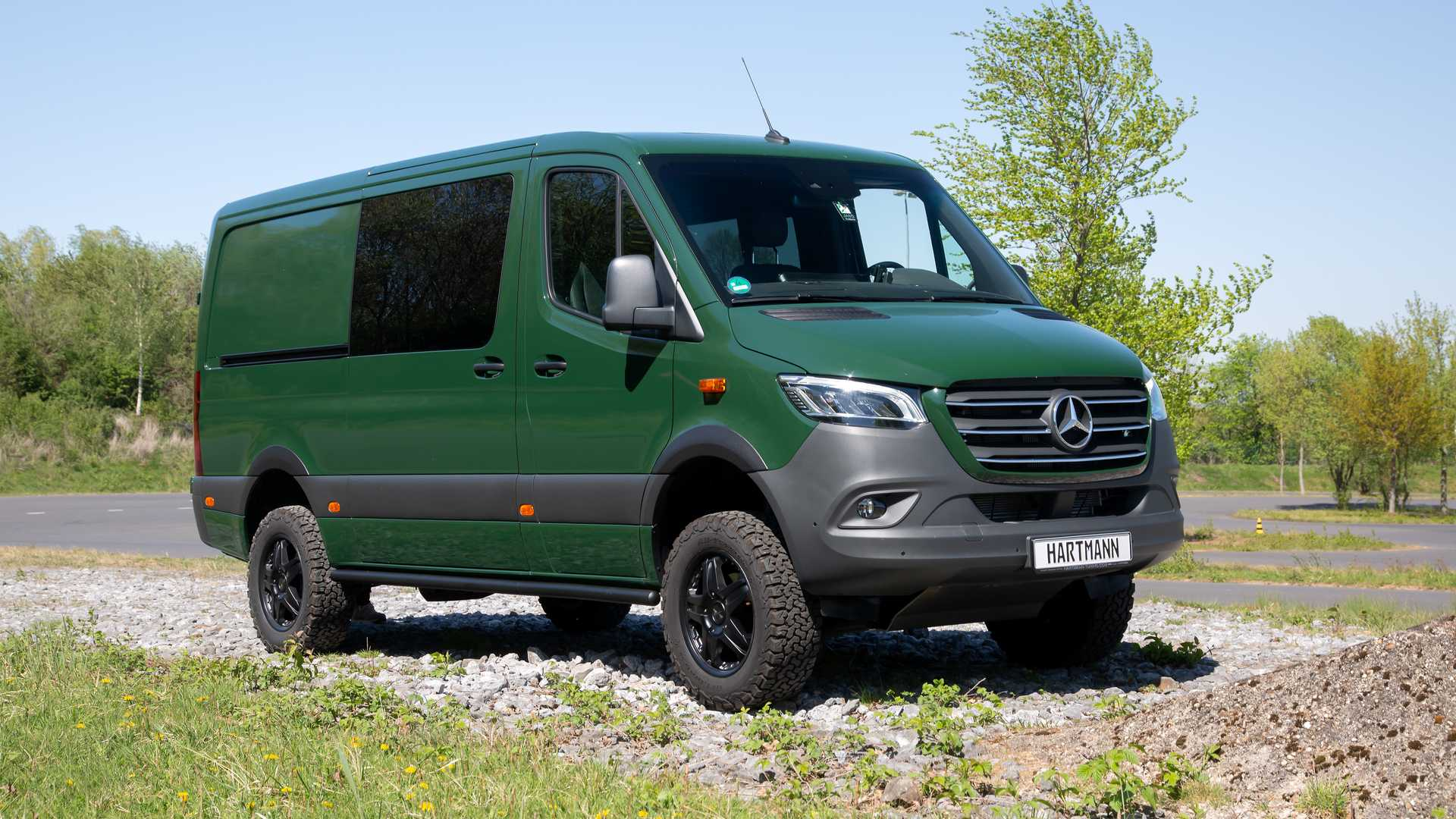 Mercedes Sprinter Becomes Off Road Van With Suspension Mods Chunky Tires