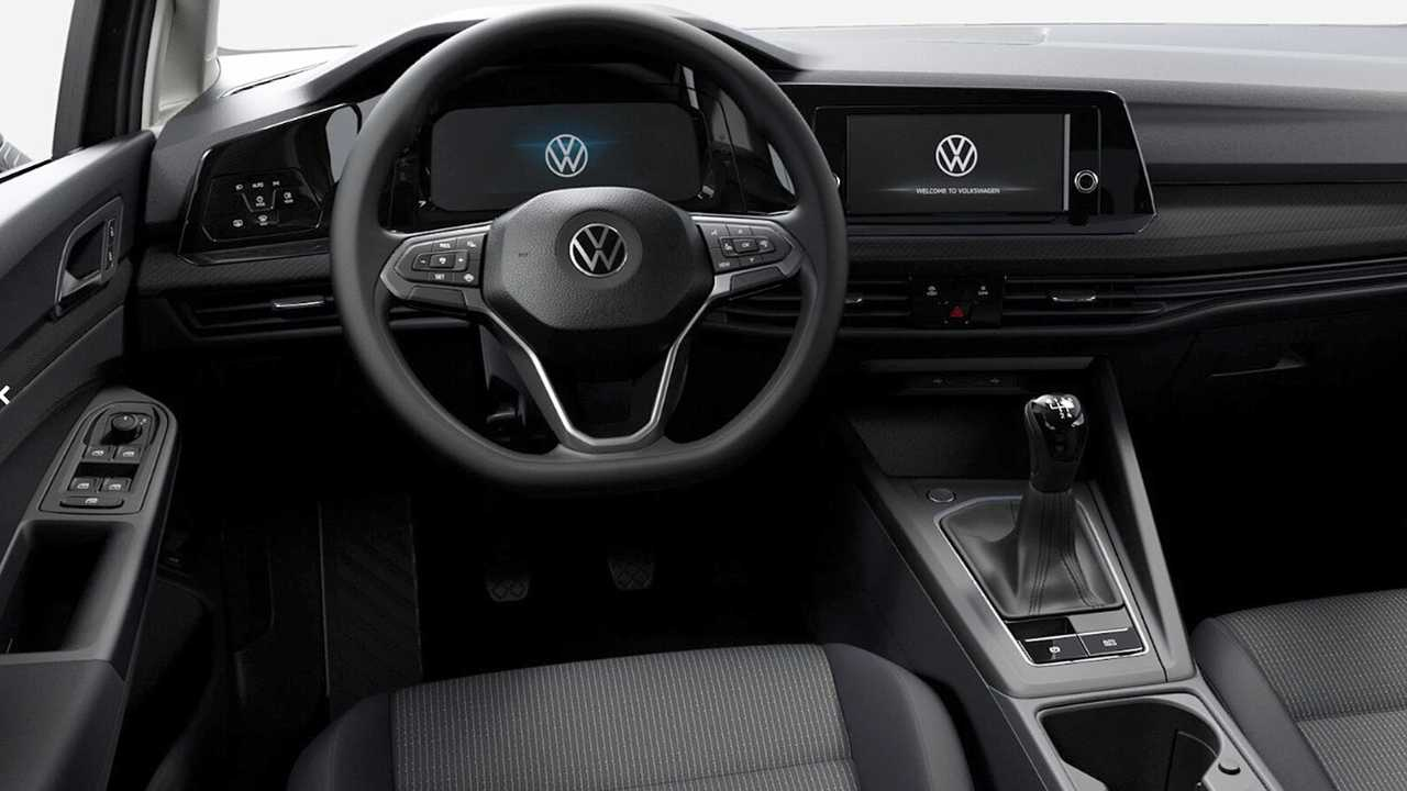 Volkswagen Golf в базовой комплектации