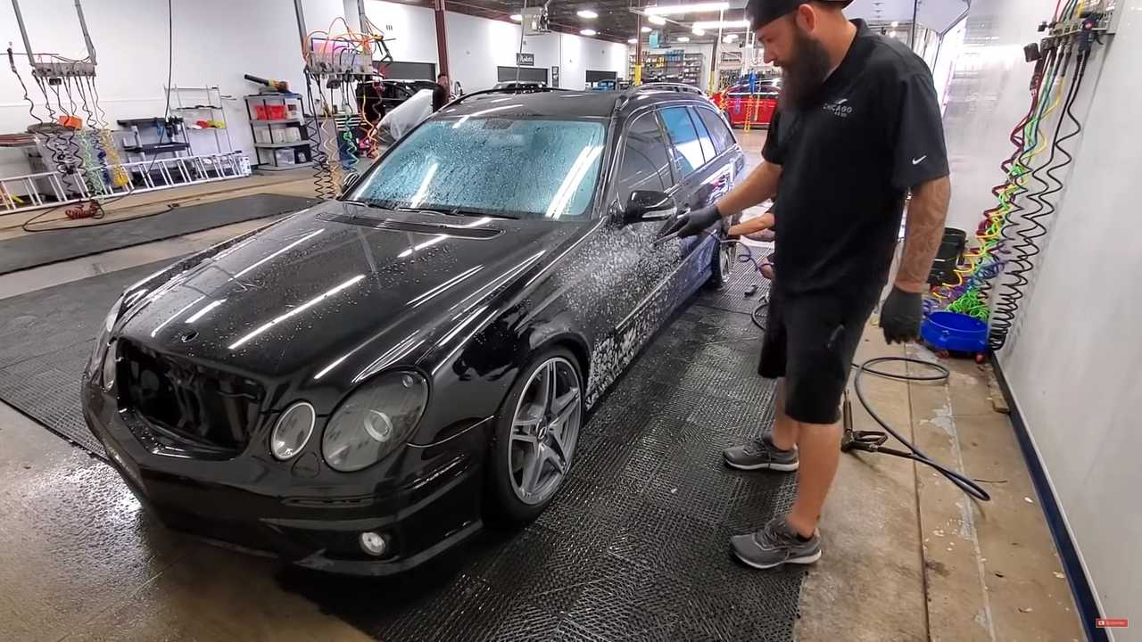 Mercedes AMG Exterior Transformation