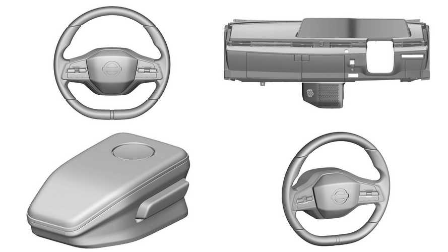 Nissan Ariya Interior Parts Revealed By European Patent Images