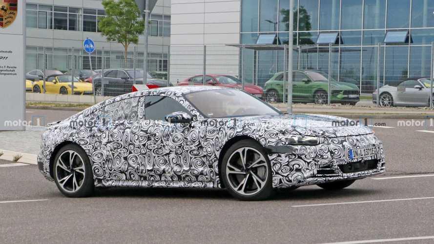 2021 Audi E-Tron GT spied at Porsche's Development Center