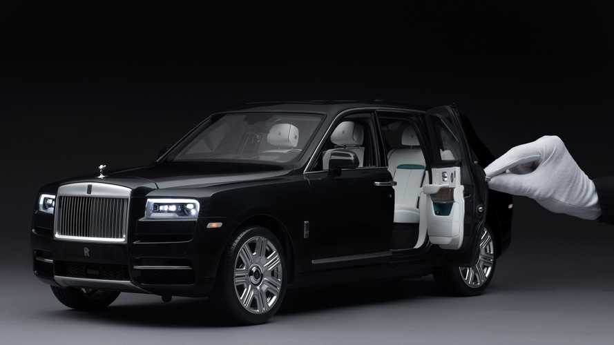 Rolls-Royce Cullinan 1:8 scale model can take 450 hours to produce