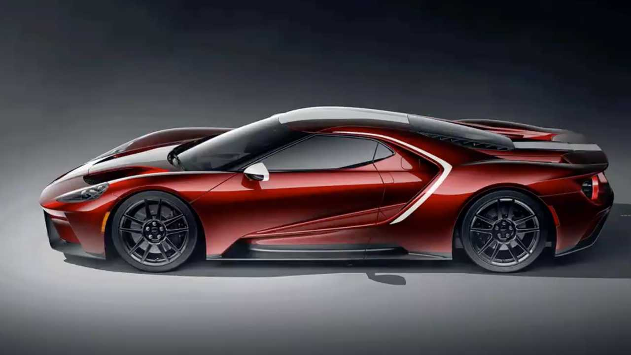 2021 Ford GT New Colors And Graphics