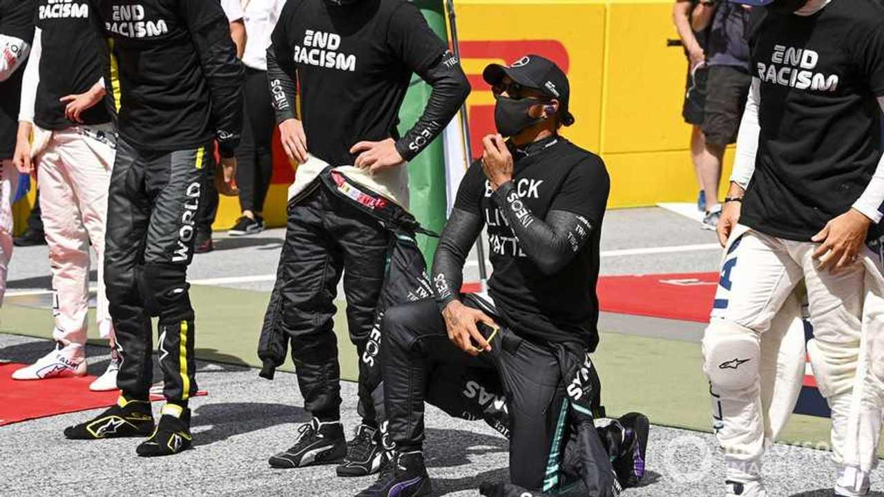 Lewis Hamilton at Styrian GP 2020