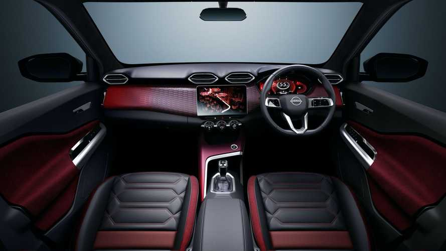 Nissan revela interior do Magnite, SUV abaixo do Kicks para países emergentes