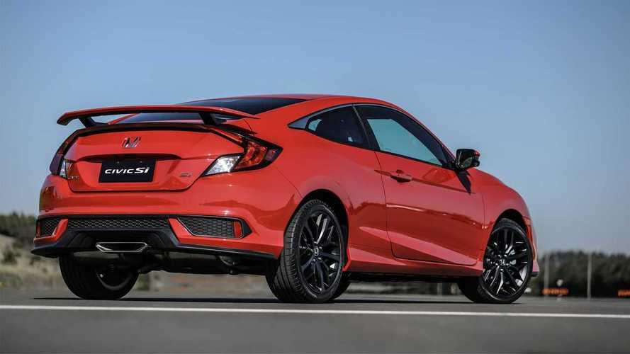 Baixas vendas nos Estados Unidos levaram ao fim do Honda Civic Si no Brasil