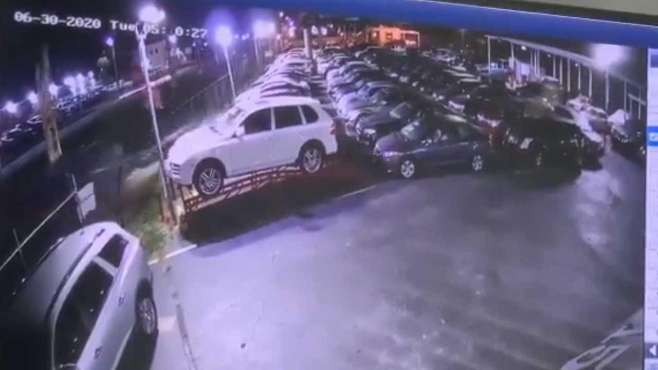 Cadillac Eldorado crash