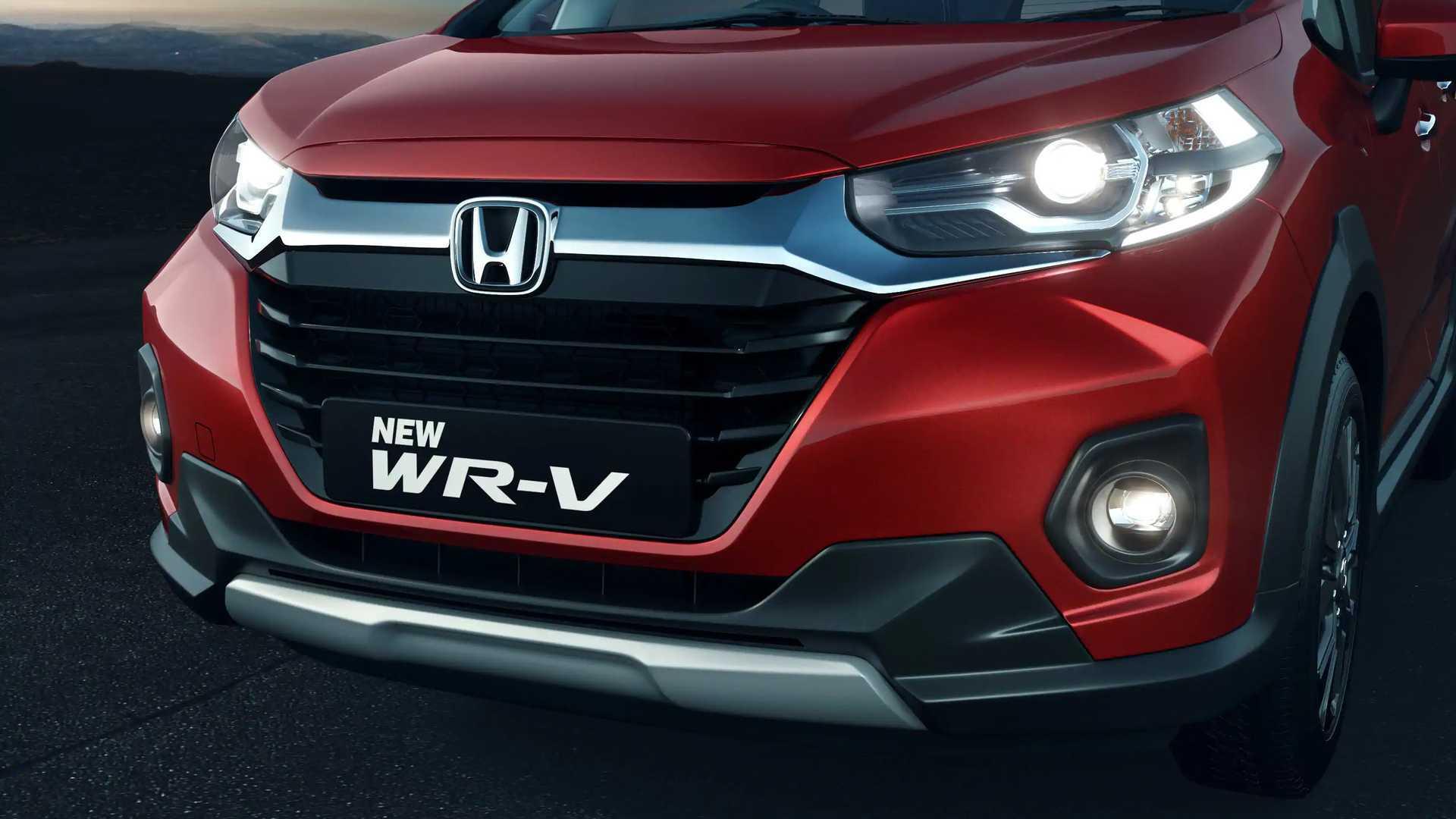 Novo Honda WR-V 2021 passa por leve mudança, mas só na Índia