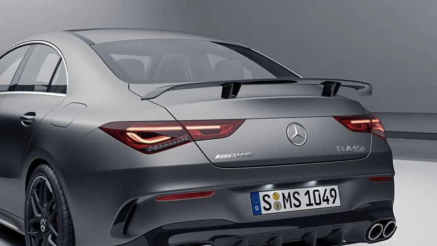 Mercedes CLA Aerodinamik Paketler