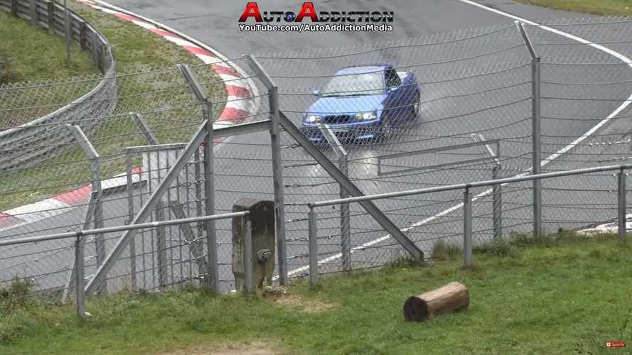 BMW M3 E46 pick-up en Nürburgring