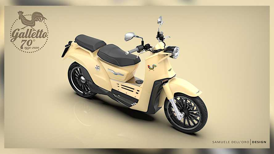 Moto Guzzi Galletto Concept Electrifies The Iconic Scooter