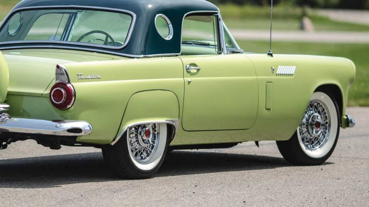 This 1950s Ford Thunderbird For Sale Still Looks Minty Fresh