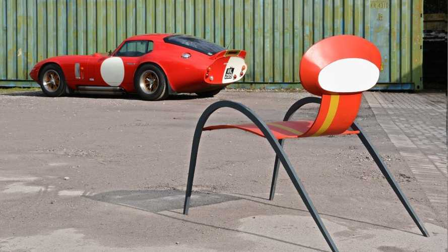 Sculptor designs bespoke chairs inspired by classic sports cars