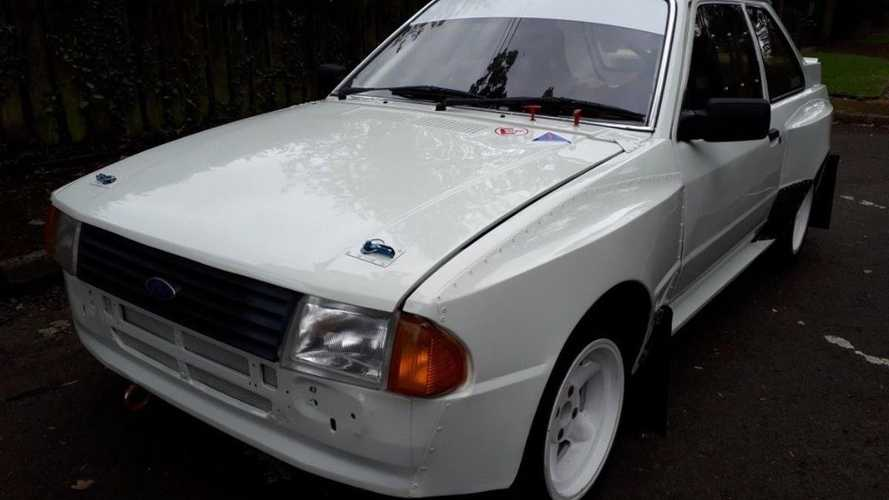 Ford Escort MK3 Genesis for sale: Rear-wheel-drive rally hero