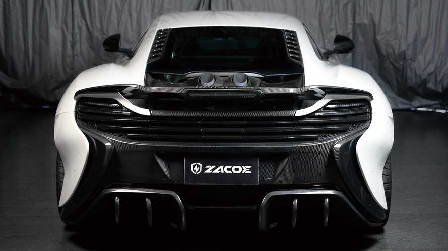 McLaren 650S and MP4 Get Flame-Spitting Top Exit Exhaust System